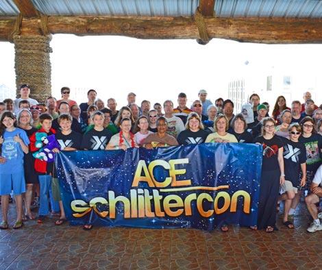 SchlitterCon Group Photo 2013